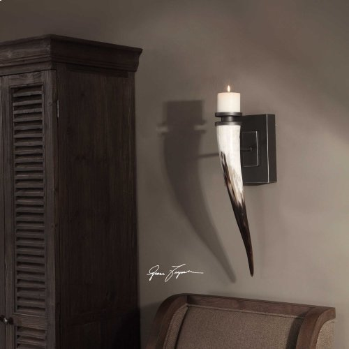 Romany Candle Sconce