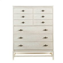 Coastal Living Resort Tranquility Isle Drawer Chest in Nautical White
