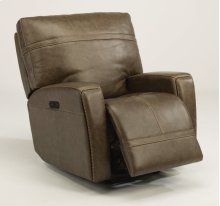 Talbert Power Gliding Recliner with Power Headrest
