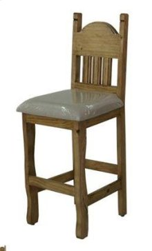 "30"" Barstool W/Cushion Seat"