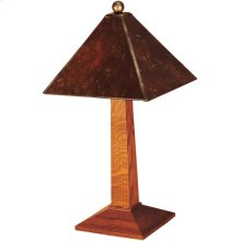 Mica Shade Small Lamp