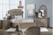 Arch Salvage Queen Chambers Panel Bedroom Group: Queen Bed, Nightstand, Dresser & Mirror