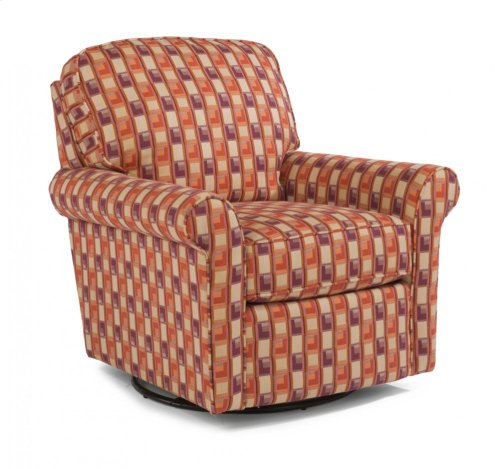Parkway Fabric Swivel Glider