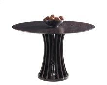 Aziz Round Dining Table - Espresso