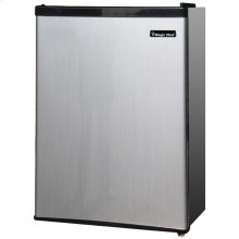 2.4 Cubic-ft Refrigerator (Silver)