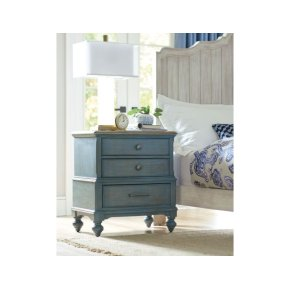Moray Nightstand Blue