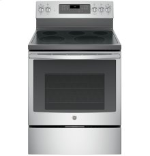 "GE® 30"" Free-Standing Electric Convection Range"