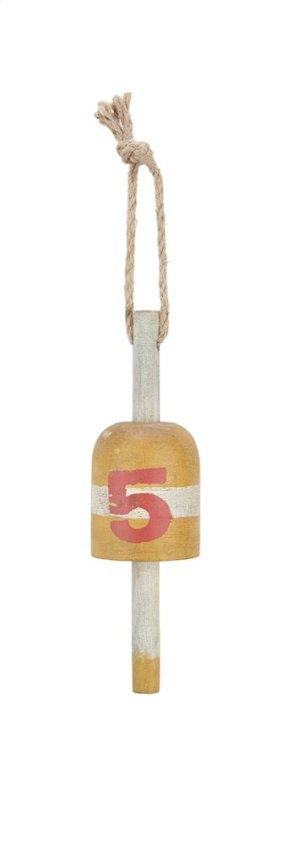 Soterios Wood Buoy Decor - Ast 4