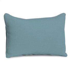Lumbar Pillow - Ice Blue Polyester Blend