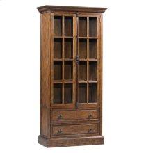 Hawthorne Estate 2 Drawer 2 Glass Door Curio Cabinet