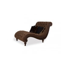 Upholstery Accent Cheetah Chaise