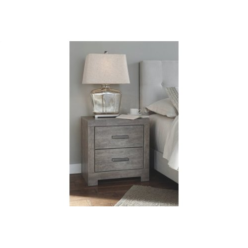 B070 Two Drawer Nightstand (Culverbach)
