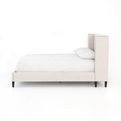 "Jefferson 48"" King Bed-snow Cream"