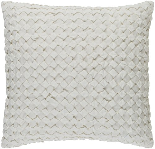 """Ashlar ALR-004 22"""" x 22"""" Pillow Shell with Polyester Insert"""
