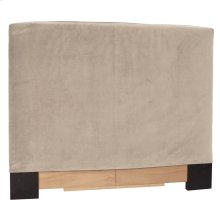 Twin Slipcovered Headboard Bella Sand