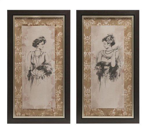 Bianca Framed Art - Ast 2