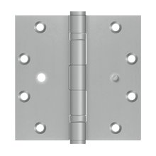 """5""""x5"""" Square Hinge, 2BB, Security - Brushed Stainless"""