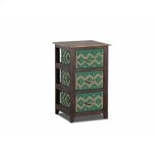 Storage Cabinet With 3 Baskets