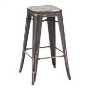 Marius Barstool Antique Black Gold Product Image