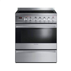 "FISHER & PAYKELInduction Range 30"", Self Cleaning"