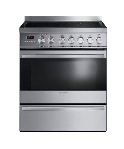 "Induction Range 30"", Self Cleaning Product Image"
