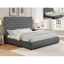 Allie Storage Bed King/queen Rail
