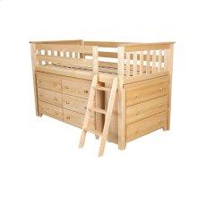 Twin Loft   Dresser   Dresser Natural