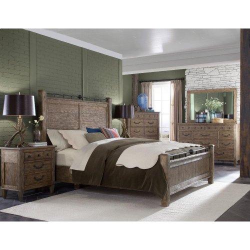 451-066 KBED Riverbank King Bed Complete