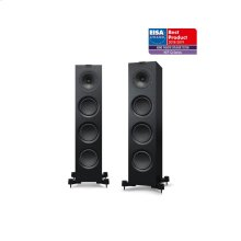 Satin Black Q750 Floorstanding Speaker