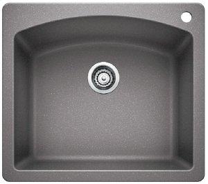 Blancodiamond Single Bowl - Metallic Gray