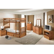 Twin/Twin Mission Bunkbed