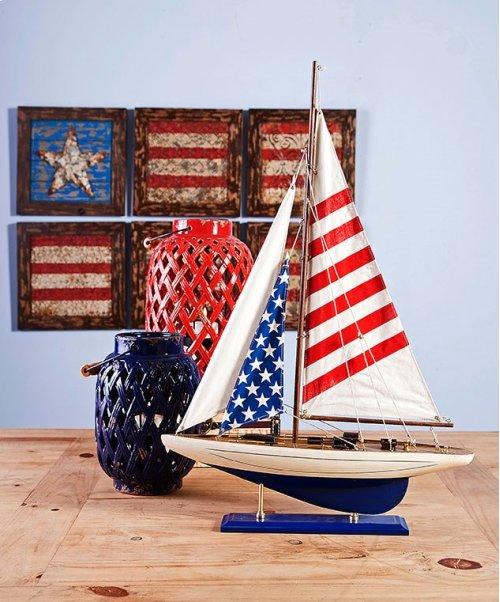 Carter American Flag Sailboat