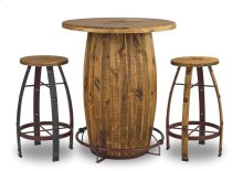 Mossy Oak Round Bar Stool