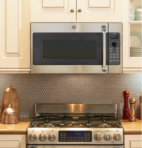 SAVE BIG! MAKING ROOM FOR 2018 MODELS - GE Cafe™ Series Over-the-Range Oven with Advantium® Technology