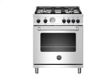"30"" Master Series range - Gas oven - 4 aluminum burners - Black knobs"