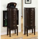 """Italian Influenced Transitional """"Espresso"""" Jewelry Armoire Product Image"""