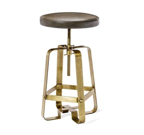Mason Adjustable Stool - Brass