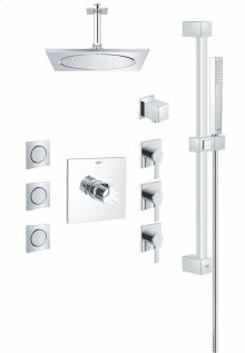 Square THM Custom Shower Kit