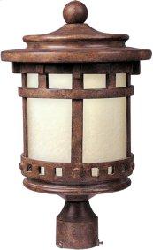 Santa Barbara LED 1-Lt Outdoor Pole/Post Lantern