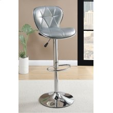 F1623 / Cat.19.p64- ADJUSTABLE BARSTOOL SILV