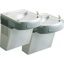 Elkay Versatile Cooler Wall Mount Bi-Level GreenSpec ADA, Filtered 8 GPH Stainless