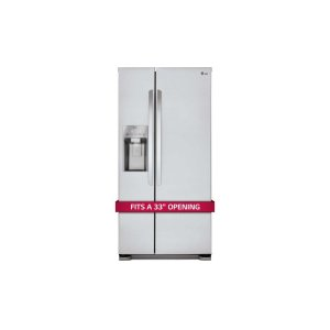 22 cu. ft. Side-by-Side Refrigerator - STAINLESS STEEL