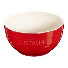 """Staub Ceramics 6.5"""" Universal Bowl, Cherry"""