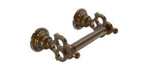 Paper Holder - Polished Brass Uncoated