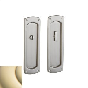Lifetime Polished Brass PD007 Palo Alto Pocket Door Product Image