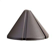 12V Cast Mini Deck Light Textured Architectural Bronze