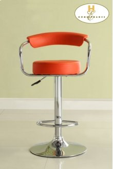 Red Airlift Swivel Stool