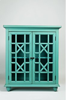 Brighton Park Accent Chest- Turquoise