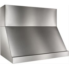 "36"" 316-Grade Stainless Steel Range Hood for outdoor use with 1200 CFM Internal Blower"