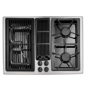 Designer Line Modular Gas Downdraft Cooktop, 30